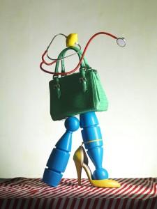 Amica Green Handbag