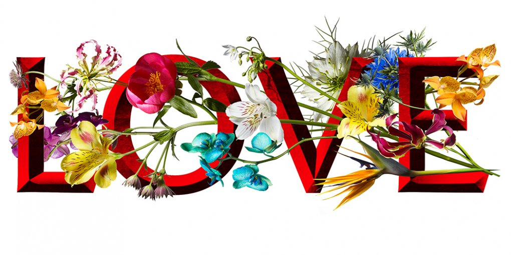 Love Flower Logo Blog